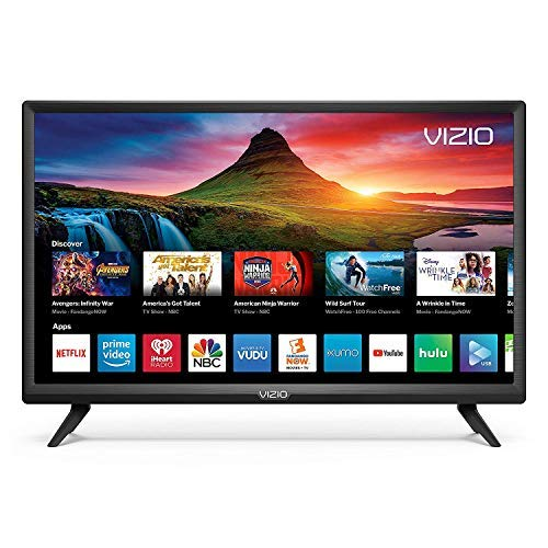 Vizio D-Series 24' HD (720P) Smart LED TV, Smartcast + Chromecast Included - D24H-G9 (Renewed)