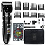 Best Hair Clippers For Men - SKEY Professional Hair Clippers - Hair trimmer Cordless Review