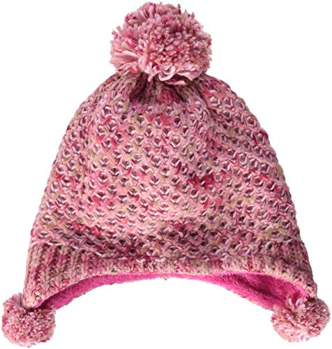 maximo Baby-Mädchen 83574-258400, ausgenäht Mütze, Mehrfarbig (Altrosameliert 41), 49