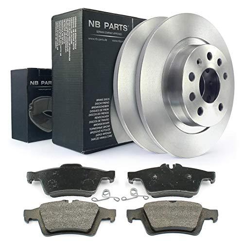 Bremsen/Bremsscheiben + Bremsbeläge hinten NB PARTS GERMANY 10042213