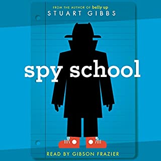 Spy School audiobook cover art