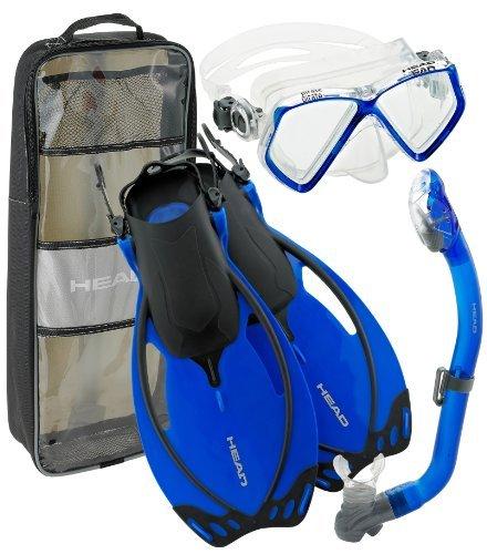 Head Alize Junior snorkelset, duikbril en snorkel met uitblaasventiel