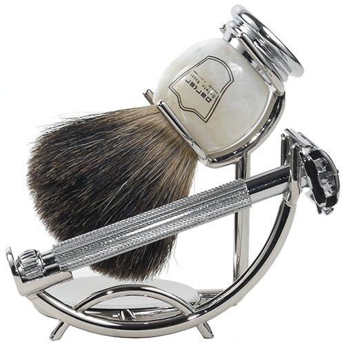 Parker 29L Safety Razor Shave Set - Includes Black Badger...