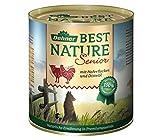 Dehner Best Nature Hundefutter, Senior Lamm und Geflügel, 6-er Pack (6 x 800 g) - 2
