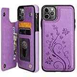 Vaburs iPhone 11 Pro Max Case Wallet with Card Holder, Embossed...
