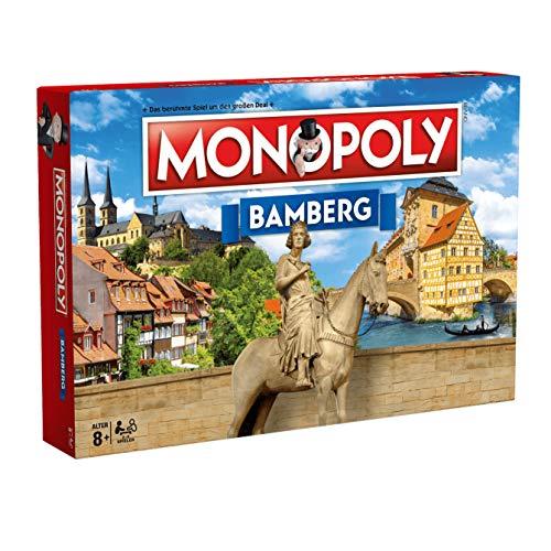 Winning Moves Monopoly Bamberg Stadt City Edition Ausgabe Spiel Gesellschaftsspiel Brettspiel