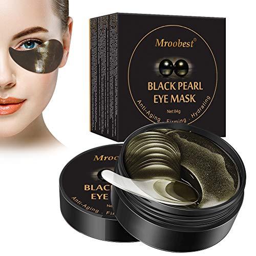 Eye Mask, Maschera per gli occhi, Maschera d'occhio del collagene, Black...