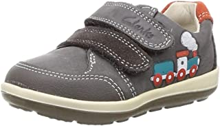 Clarks Boy's Softly Tom Leather First Walking Shoes