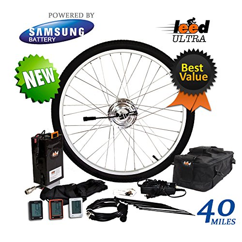 Electric Bike Conversion Kit / Li-ion 20.8 Ah Included 24V 250W (26' Wheel)