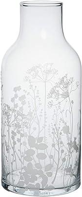 Räder Vase en Verre avec Fleurs des Champs Blanc Hauteur 30 cm Diamètre 13,5 cm