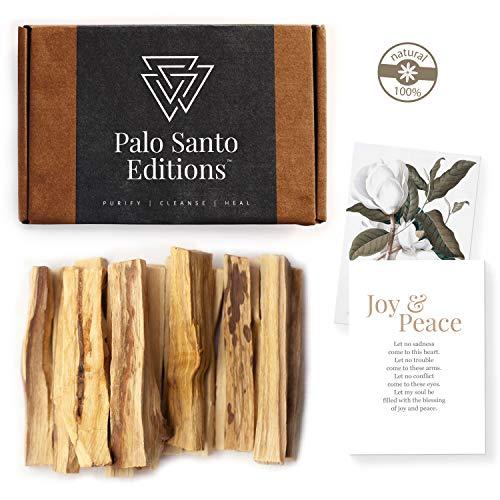 Aashram Premium Edición de 100g de Ramas de Palo Santo -Ramas robustas con fragancia de madera de...