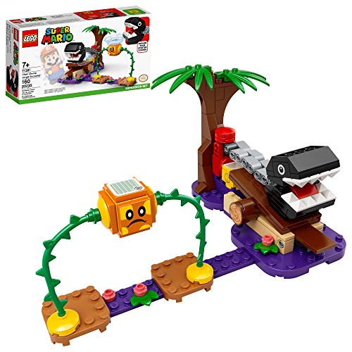 LEGO Super Mario Chain Chomp Jungle Encounter Expansion Set 71381 Building Kit; Collectible Toy for Creative Kids, New 2021 (160 Pieces)