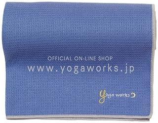 ヨガワークス(Yogaworks) ワッフルヨガラグ グレイパープル YW-A160-C074