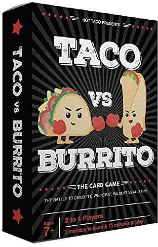 Taco vs Burrito  The Wildly Popular Surprisingly Strategic Card Game Created by a 7 Year Old