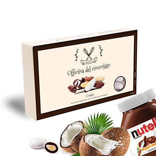 CONFETTI alla Mandorla e Crema -SCELTA TRA TANTI GUSTI- Confezioni da 1 KG. (Cocco e Nutella)