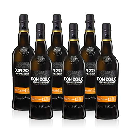 Vino Palo Cortado Don Zoilo de 75 cl - D.O. Jerez-Sherry - Bodegas Williams & Humbert (Pack de 6 botellas)
