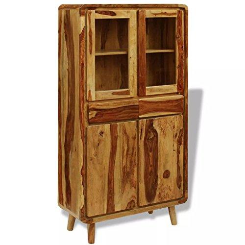 XingliEU dressoir van Sheesham-hout, 90 x 40 x 175 cm. Dit product is zeer robuust en duurzaam, uniek en elegant design.