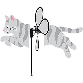 Premier Kites Petite Spinner, Gray Tabby