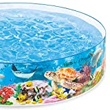Intex Deep Sea Blue SnapSet Kiddie Swimming Pool
