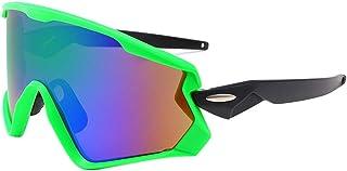 ChenYongPing Gafas de Sol Deportivas polarizadas Gafas de Sol polarizadas de los Hombres Gafas de Sol a Prueba de Viento de la Bici Gafas de Deporte Coloridas Gafas de Ciclismo para Correr
