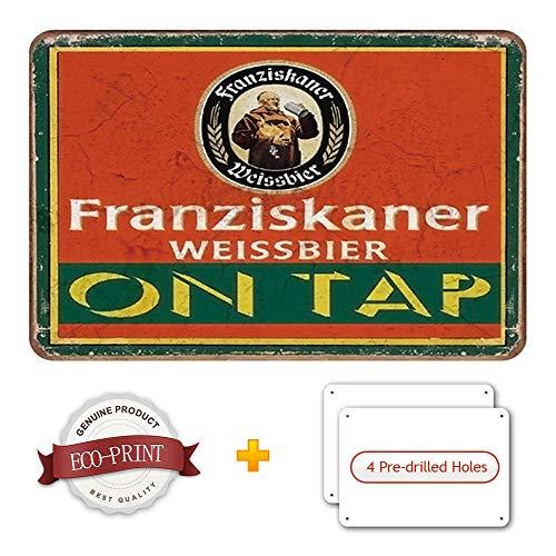 Schatzmix Franziskaner Weissbier m/önch Flasche Etikett blechschild