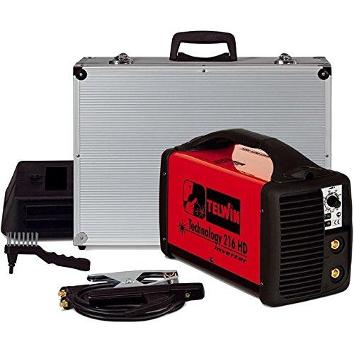 Telwin Technology 216 MPGE Saldatrice con elettrodi, MMA, inverter