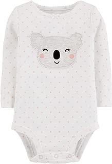 Baby Girls' Long Sleeve Llama Bodysuit