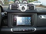 Mascherina autoradio a doppio DIN, Smart Fortwo 451,a partire da ottobre 2010