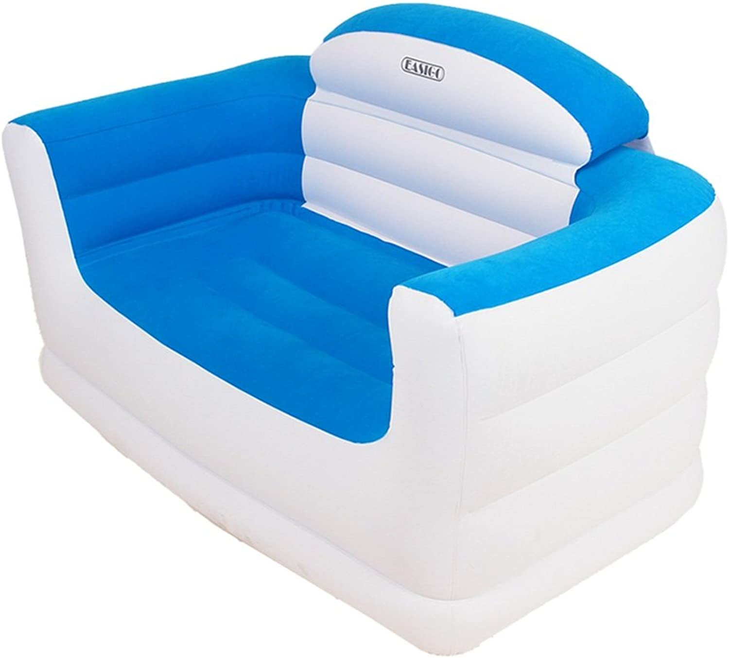 Beanbag, Inflatable Sofa Collapsible Flocking Simple Sofa Leisure Chair