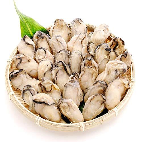 広島県産冷凍かき 1kg 宮島近海で獲れた大粒かき 冷凍便 カキ 牡蠣 鍋 �潟Aミスイ