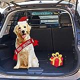 ISSYZONE Divisori Auto per Cani, Lunghezza Regolabile Poggiatesta Auto per Cani, Divisorio Auto per...