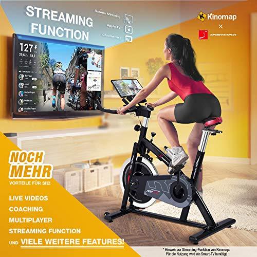 Sportstech Profi Indoor Cycle SX200 Hometrainer Fahrrad Bild 2*