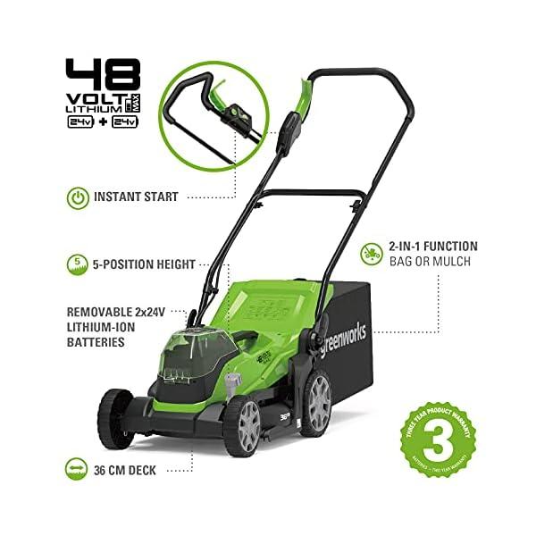 Greenworks Battery Powered Mower