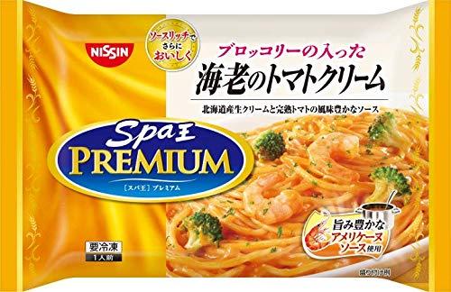 【冷凍】日清 スパ王プレミアム 海老のトマトクリーム X6袋