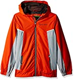 Free Country Boys' Big Multi Ripstop Jacket, Orange Rush, L (10/12)
