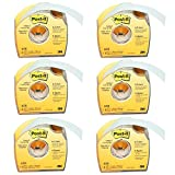 Post-it : Removable Cover-Up Tape, Non-Refillable, 1' x 700' roll -:- Sold as 6 Packs of - 1 - / - Total of 6 Each