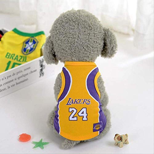 UD-strap Pet Jersey Football Licensed Dog Jersey, Dog Clothes Football T-Shirt Dogs Kostüm National Soccer World Cup, Outdoor Sportswear Summer Breathable 5XL D