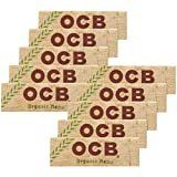 柘製作所(tsuge) OCB オーガニック シングル ペーパー 【スローバーニング ・ 50枚入り】#78885 ×10パック 手巻きタバコ