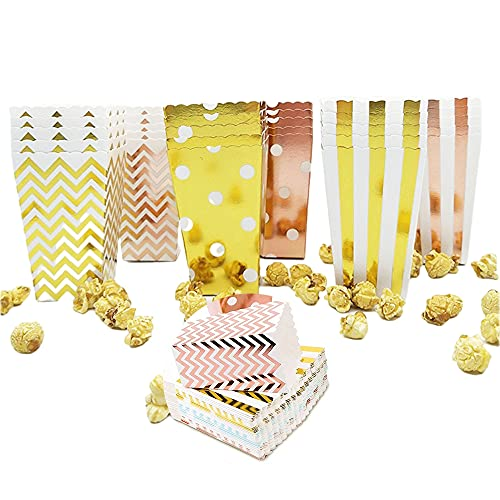 36Stk Popcorn Tüten Candy Container Popcorn Box Partytüten für Popcorn Salzstangen