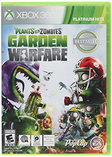 Plants vs Zombies Xbox 360 – Classics Edition, Platinium Hits Best Seller Awarded