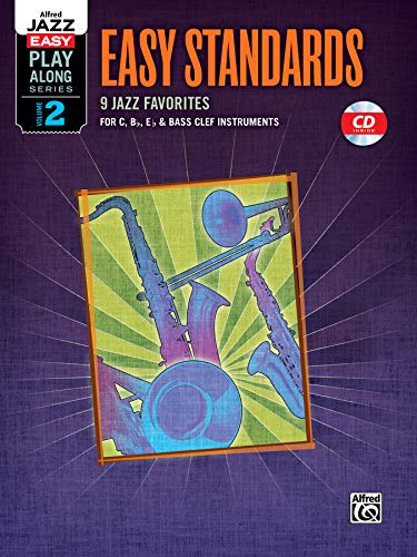 Alfred Jazz Easy Play-Along Series, Vol. 2: Easy Standards (Alfred Easy Jazz Play-along)