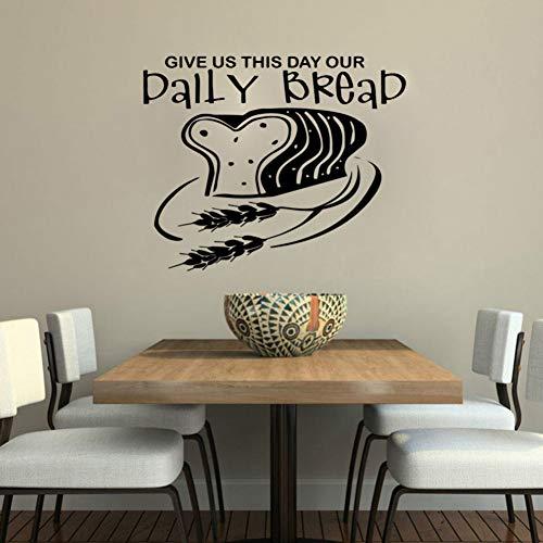 TYOLOMZ Dagelijks Brood Behang Home Decoratie Muursticker voor Baby Kids Kamers Decor Verwijderbare muurschildering