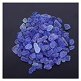 Edelstein Chakra Steine 1 Packung Natürlicher Zerkleinerer Kristall Felsen Chips Stein Unregelmäßige Form Kristall Kieselsteine Home Indoor Tank Blumentopf Kies ( Color : Picture 2 , Size : M )