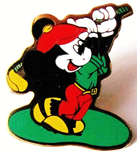 Walt Disney - Mickey Mouse als Golfer - Pin 26 x 23 mm