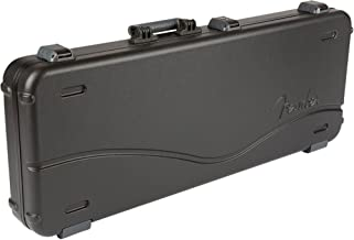 Fender Deluxe Molder Stratocaster - Telecaster Electric Guitar Case - Black