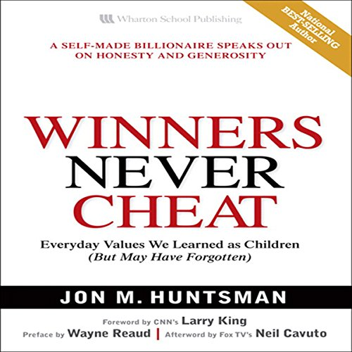 Winners Never Cheat  audiobook cover art