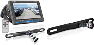 $98 » Rear View Backup Car Camera & License Plate Rear View Camera - Built-in Distance Scale Lines Backup Parking/Reverse Assist...