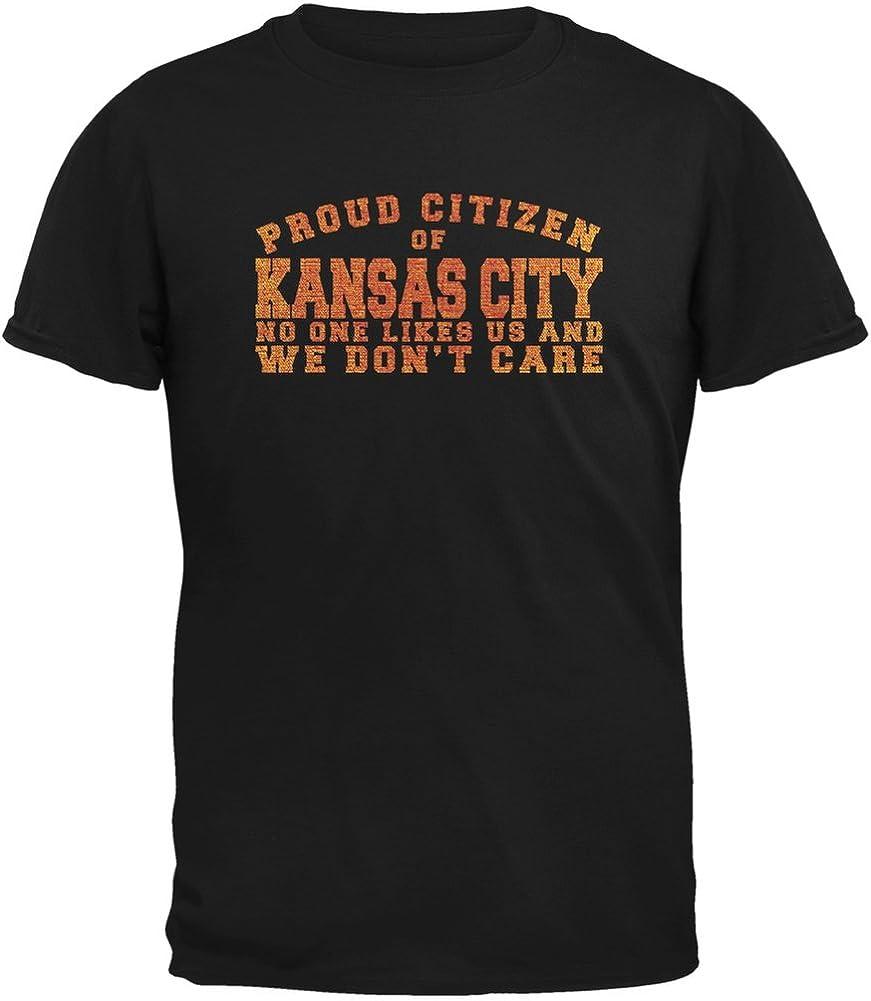 Proud No One Likes Kansas City Black Youth T-Shirt