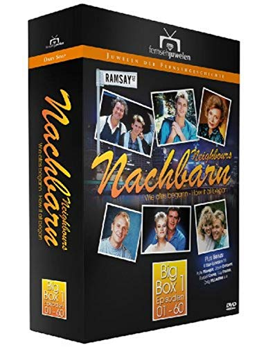 Nachbarn/Neighbours - Big Box 1: Episoden 1-60 + 6 Star-Episoden (Fernsehjuwelen) [12 DVDs]