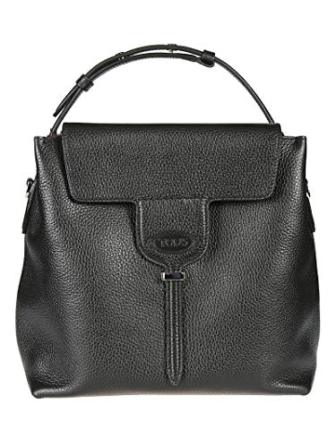 Tod's Luxury Fashion Damen XBWANXE9200FFXB999 Schwarz Leder Handtaschen | Jahreszeit Outlet